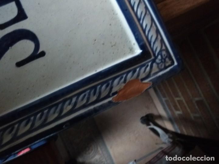 Antigüedades: PLACA CERAMICA GRANADA - Foto 3 - 192170521