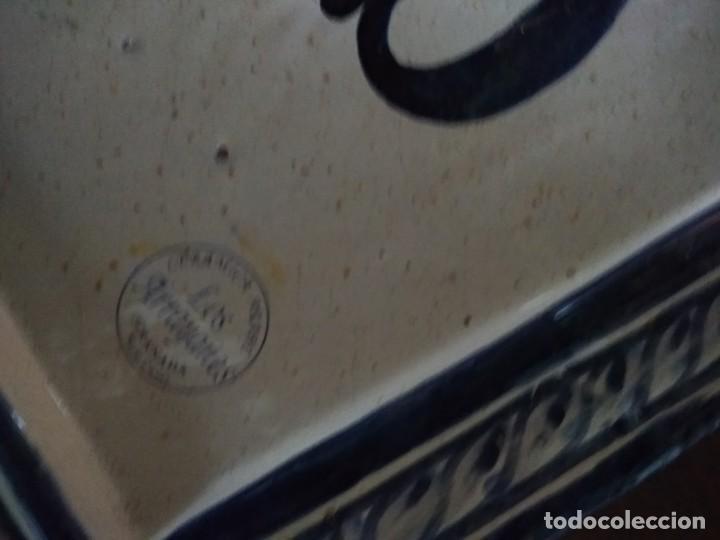 Antigüedades: PLACA CERAMICA GRANADA - Foto 4 - 192170521