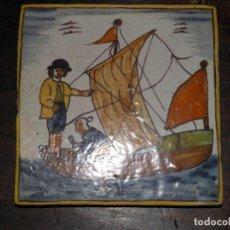 Antigüedades: BALDOSA CATALANA ARTS I OFICIS. Lote 192183231