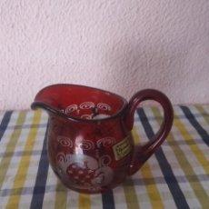 Antigüedades: BONITA JARRA DE BOHEMIA . Lote 192196952