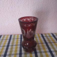 Antigüedades: FLORERO DE BOHEMIA.ANTIGUO. Lote 192196983
