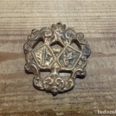 Antigüedades: SIGLO XIX, SEMANA SANTA SEVILLA O PROVINCIA, MEDALLA A IDENTIFICAR, RARISIMA,6X7 CMS. Lote 192235126