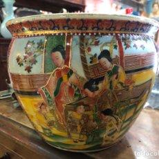 Antigüedades: FANTASTICO MACETERO MADE IN CHINA - MEDIDA 22X17 CM. Lote 192265355