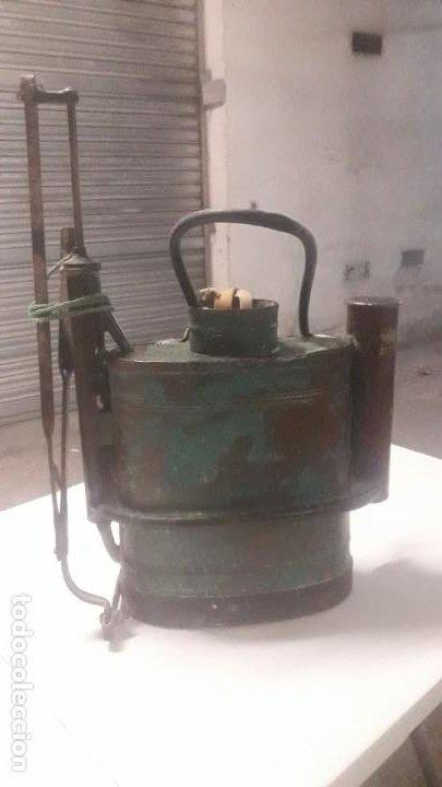 Antigüedades: Sulfatador cobre - Foto 7 - 192284192