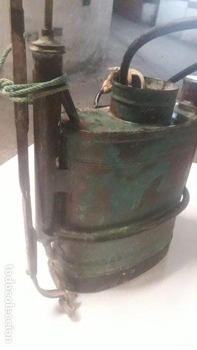 SULFATADOR COBRE (Antigüedades - Técnicas - Rústicas - Agricultura)
