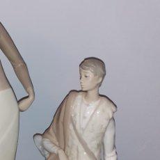 Antigüedades: FIGURA PORCELANA LLADRÒ PASTOR // CON SELLO Y NUMERACIÓN. Lote 192292805