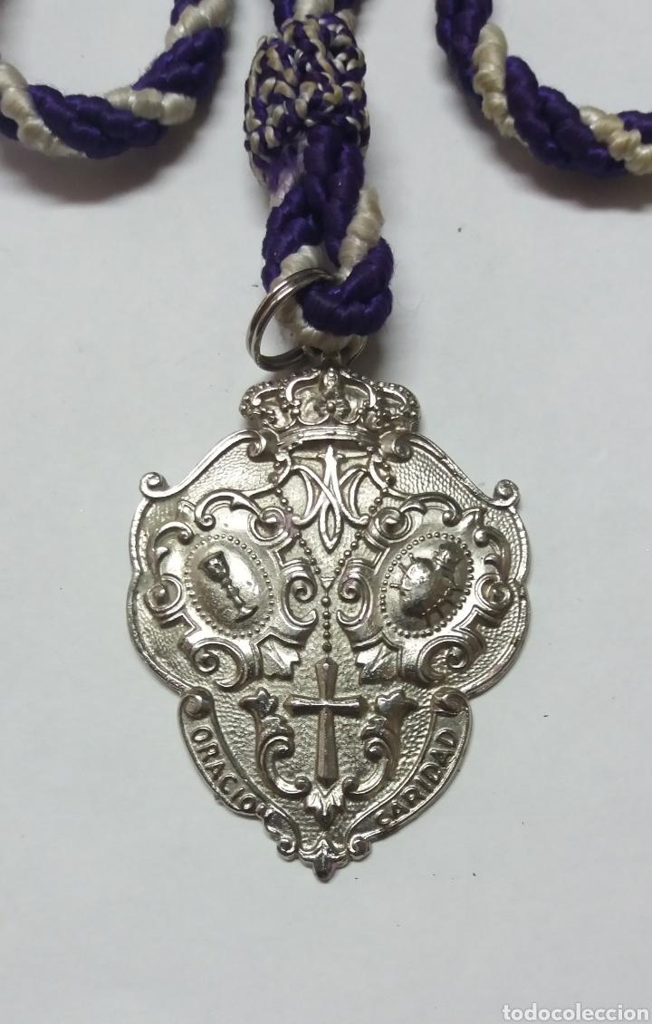 MEDALLA HDAD SAGRADA ORACION EN EL HUERTO DOS HERMANAS SEVILLA (Antigüedades - Religiosas - Medallas Antiguas)