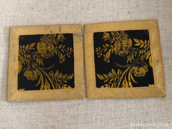 Antigüedades: Antigua funda corporales realizadas en Damasco con galón de oro. XIX - Foto 3 - 192318243