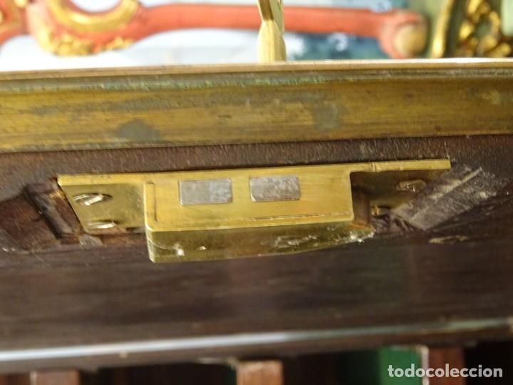 Antigüedades: Armario antiguo inglés Jorge III en caoba de Cuba, S,XVIII - Foto 35 - 192339911