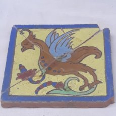 Antigüedades: AZULEJO ANTIGUO DE SEVILLA / TRIANA - SIGLO XIX. . Lote 192385705