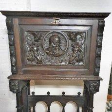 Antigüedades: BARGUEÑO PAPELERA. Lote 192408203