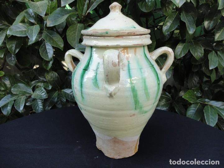 ALFARERÍA ANDALUZA: ORZA DE UBEDA (JAÉN) (Antigüedades - Porcelanas y Cerámicas - Úbeda)