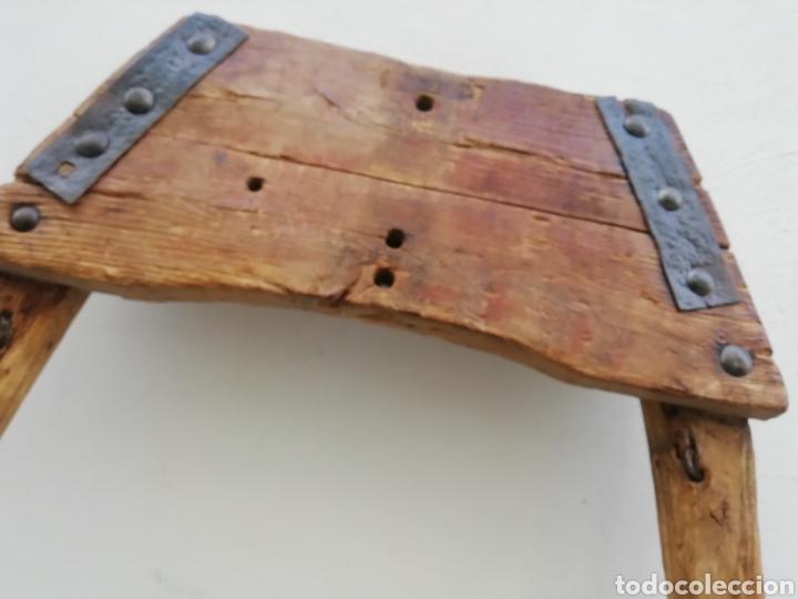 Antigüedades: Antiguo unsillo para el ganado - Foto 5 - 192453712