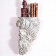 Antigüedades: MÉNSULA DE MADERA ANTIGUA. Lote 192471408