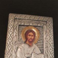 Antigüedades: ICONO DE PLATA 925 DE MESA. Lote 192472170