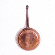 Antigüedades: SARTÉN ANTIGUA DE COBRE. Lote 192479556