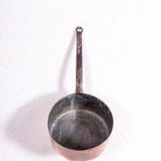 Antigüedades: CAZO DE COBRE ANTIGUO. Lote 192477326