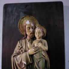 Antigüedades: SAN JOSÉ CON NIÑO. Lote 192526458