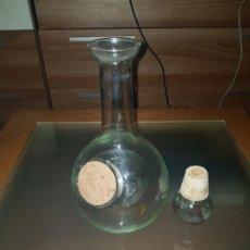 Antigüedades: JARRA PARA LICOR DOBLE RECIPIENTE.. Lote 192601906