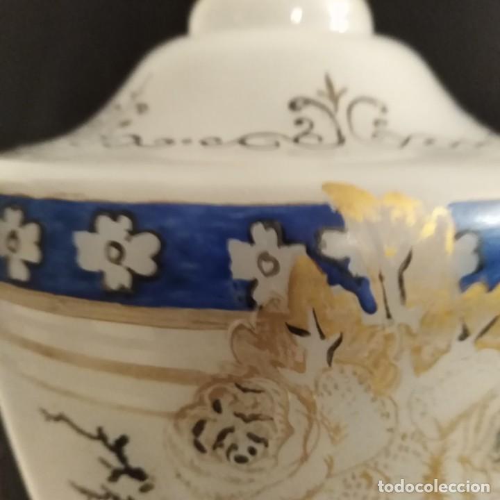 Antigüedades: Antiguo Jarrón de opalina del siglo xix - Foto 3 - 192604401