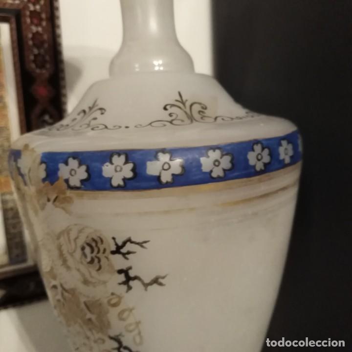 Antigüedades: Antiguo Jarrón de opalina del siglo xix - Foto 4 - 192604401