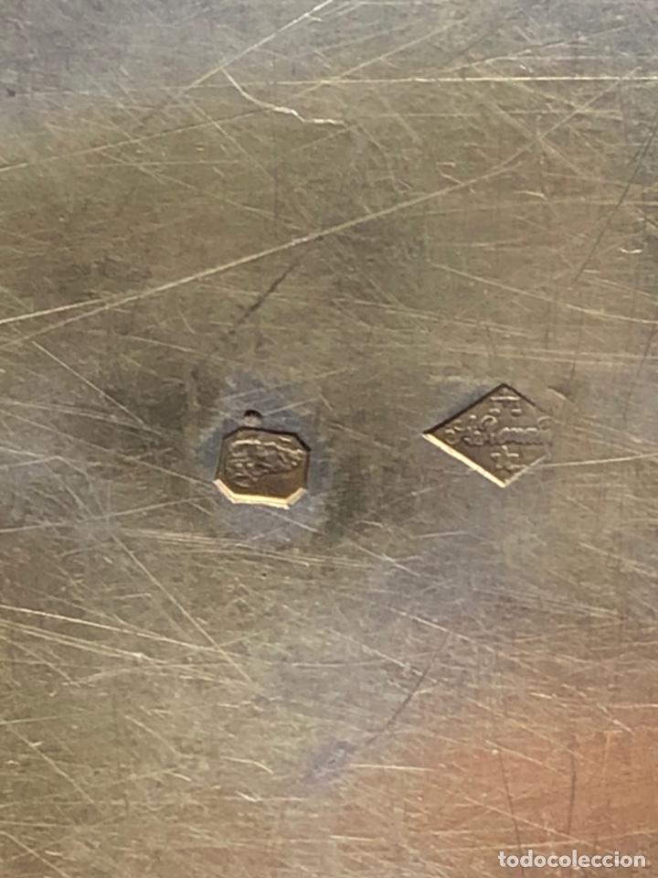 Antigüedades: Preciosas vinajeras de plata sobredorada del siglo XIX con sello del maestro orfebre Alexis Renaud - Foto 18 - 192632083