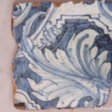 Antigüedades: AZULEJO ANTIGUO DE TALAVERA / TOLEDO - RENACIMIENTO - SIGLO XVI. - 2. Lote 192659997