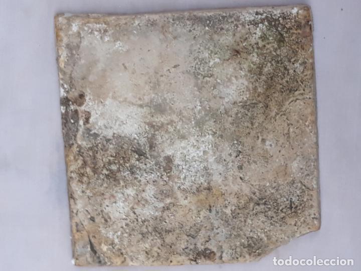 Antigüedades: AZULEJO ANTIGUO DE TALAVERA / TOLEDO - RENACIMIENTO - SIGLO XVI. / 3 - Foto 3 - 192660446