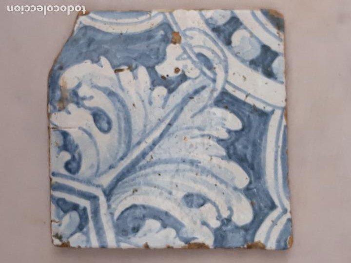 AZULEJO ANTIGUO DE TALAVERA / TOLEDO - RENACIMIENTO - SIGLO XVI. / 3 (Antigüedades - Porcelanas y Cerámicas - Talavera)