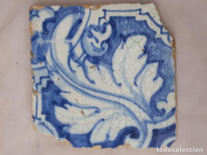 AZULEJO ANTIGUO DE TALAVERA / TOLEDO - RENACIMIENTO - SIGLO XVI. / 6 (Antigüedades - Porcelanas y Cerámicas - Talavera)