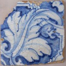 Antigüedades: AZULEJO ANTIGUO DE TALAVERA / TOLEDO - RENACIMIENTO - SIGLO XVI. / 7. Lote 192662642