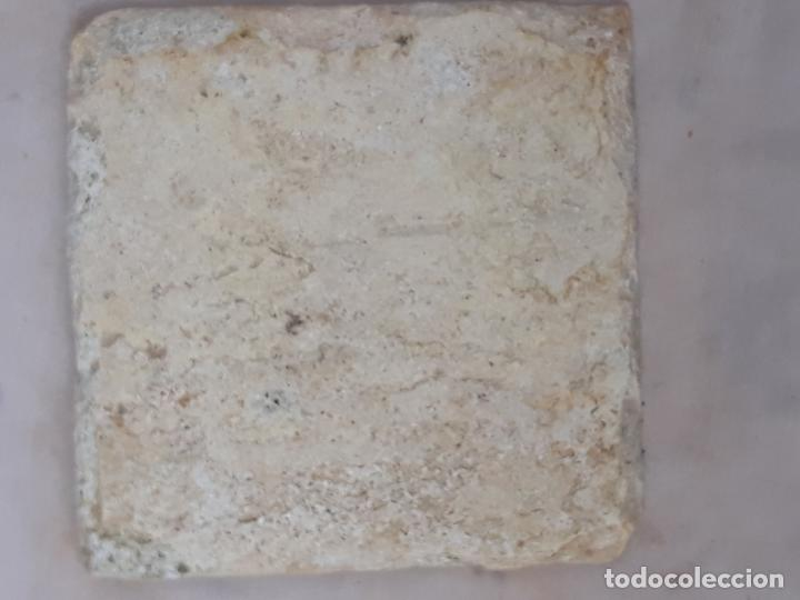 Antigüedades: AZULEJO ANTIGUO DE TALAVERA / TOLEDO - RENACIMIENTO - SIGLO XVI. / 9 - Foto 3 - 192663427