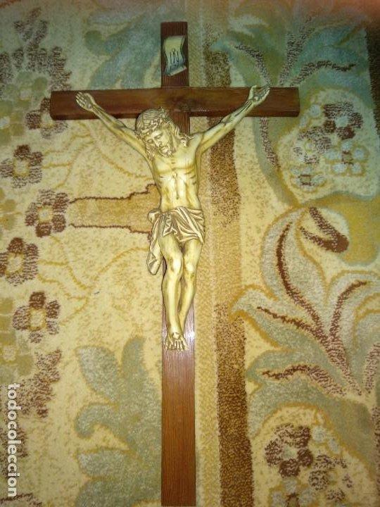 CRUCIFIJO ANTIGUO (Antigüedades - Religiosas - Crucifijos Antiguos)