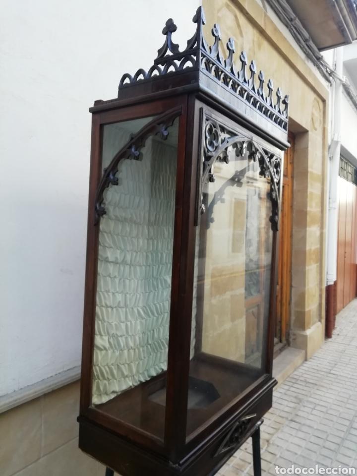 Antigüedades: Antigua hornacina del siglo xix - Foto 2 - 192713897