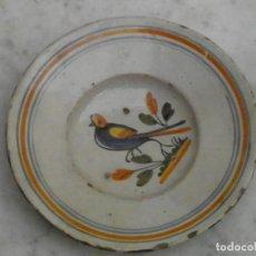 Antigüedades: PLATO CATALAN EN LOZA DE BANYOLES. Lote 192733400