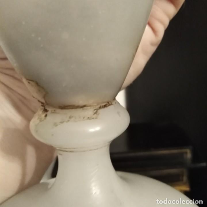 Antigüedades: Antiguo Jarrón de opalina del siglo xix - Foto 11 - 192604401