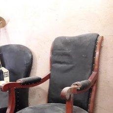 Antigüedades: SILLON RESPALDÓ ALTO. Lote 192781245