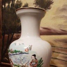 Antigüedades: JARRÓN JAPONES DEL MEDIADO DEL SIGLO XX SELLADO.. Lote 192833867