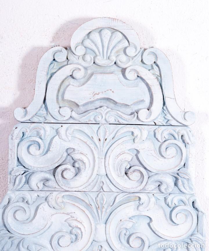 Antigüedades: Talla Decorativa Florent - Foto 2 - 192864188