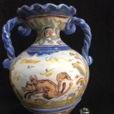 Antigüedades: ANFORA MUY ANTIGUA DE TALAVERA NIVEIRO. Lote 192866568