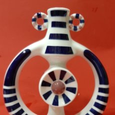 Antigüedades: SARGADELOS. FIGURA CANDELERO. MIDE 30 X 20 X 9 CM.. Lote 192867828