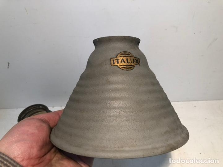 Antigüedades: LOTE DOS TULIPAS INDUSTRIALES ANTIGUAS. - Foto 2 - 192885965