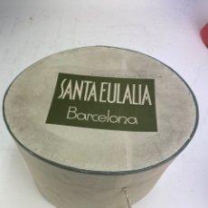 Antigüedades: CAJA SOMBRERO CASA SANTA EULALIA, BARCELONA. AÑOS 30.. Lote 192890731