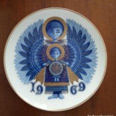 Antigüedades: PLATO NAVIDAD CONMEMORATIVO SANTA CLARA DEDICADO MOISES ALVAREZ E HIJOS AÑO 1969. Lote 192894905