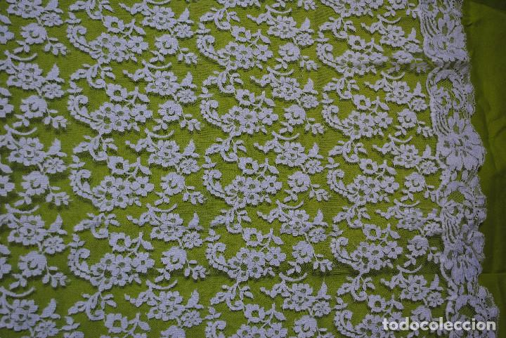 Antigüedades: Mantilla blanca - Foto 3 - 145176590