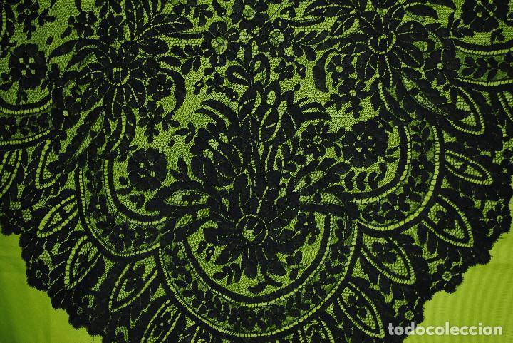 Antigüedades: Mantilla negra grandes dimensiones - Foto 8 - 192984082