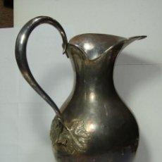 Antigüedades: JARRA ANTIGUA DE PLATA .925 MLS (CON CONTRASTES). . Lote 193055688