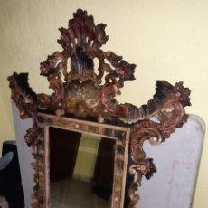Antigüedades: ESPEJO DE MADERA. Lote 193057075