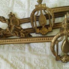Antigüedades: SUJETA CORTINAS , ALZAPAÑOS MODERNISTAS. Lote 193063083