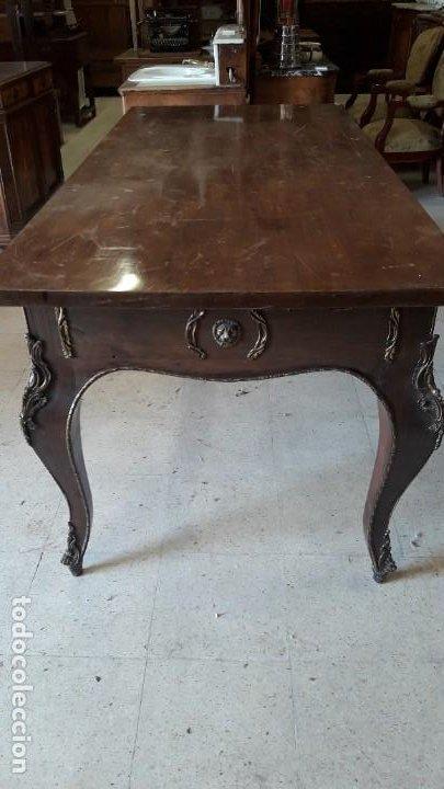 Antigüedades: Mesa despacho estilo frances - Foto 2 - 193069477